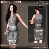 ~JJ~ Mesh Cocktail Dress - (DEMO)