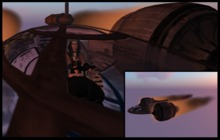 ♡ ! Pod Ship You Can Fly ~ The second person to board sits in the navigator's seat. The pilot owner must board first.