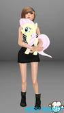 Mesh Monkey : My Little Horsie Fluttershy doll (mesh)