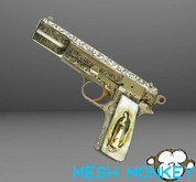 Mesh Monkey : Mesh Maria Hand Gun