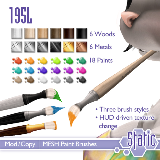::Static:: Paint Brushes