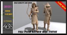 ALESTA << Mesh Archer Man Statue Full Perm