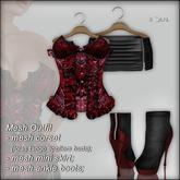 "!Soul~ Nanny""2 Mesh->Corset/Lolas Tango/Skirt /Boots- Sequins!"