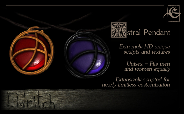 .Eldritch. Astral Pendant