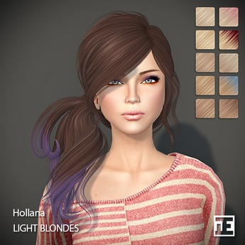 TRUTH HAIR Hollana (Mesh Hair) - light blondes