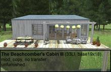 The Beachcomber's CabinIII(33LI, 19x18)