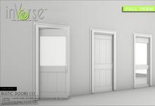 inVerse™- *MESH* RUSTIC DOORS FULL PERM