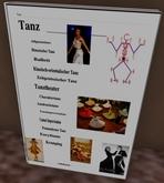 TANZ! 5 Prim - wikibuch - Umblätterbuch mit zusätzlicher Notecard (kompletter Text) Texturen anbei.