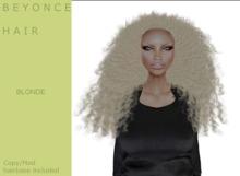 B E Y O N C E  hair golden blond - By Naomie Dirval