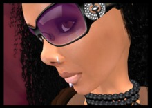 Designer Sunglasses ( 9 Cclor in scripted menu), Lip Piercing, Nose Ring & Necklace. ♡ Lovely Women's Accessories ♡