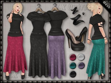 SLX Outfit: Long Dress