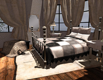 """<Heart Homes> """"Tuscan Country""""  Bedroom Set (PG, Boxed, Copy)"""