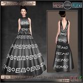 ~JJ~ Mesh Drape-backed Tank Dress (DEMO)
