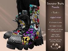 *X*plosion Smasher Boots (Female)(Punk)