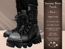 *X*plosion Smasher Boots (Female)(Black)