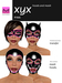 Hoods & Masquerade Mask Collection - Black Latex Hoods & Mask with Hard Pink Trim (Viewer 2.0 Only) - Hugo's Design