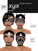*HD* Xyx Hoods & Masquerade Mask - White