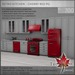 Retro kitchen cherry red pg l700