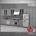 Trompe Loeil - Retro Kitchen White PG [mesh]