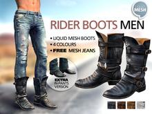 [*RG*] Rider Boots Men   *REDGRAVE*