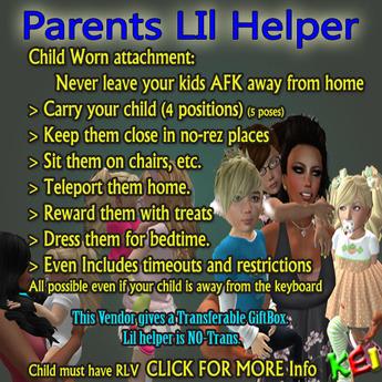 Parents Lil helper