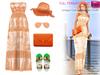 Unique golden outfit set