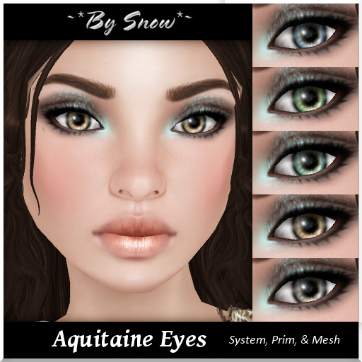 ~*By Snow*~ Aquitaine Eyes