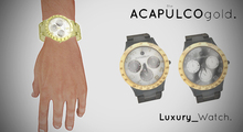 ::theACAPULCOgold.::_Luxury_Watch BLACK