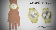 ::theACAPULCOgold.::_Luxury_Watch GOLD