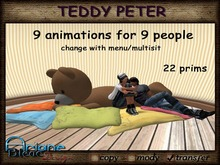 Teddy Peter to relax and cuddle - so sweet - Sitting Teddy