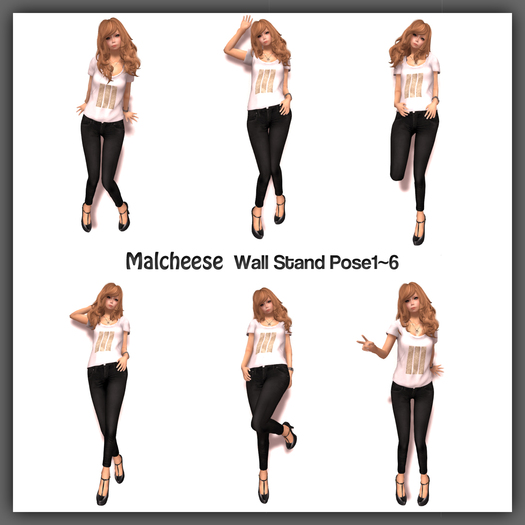 [Malcheese] Wall Stand Pose