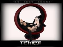 *Temptii* Loopseat - Red/Black