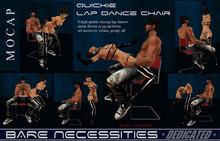 ! NEW - Quickie Lap Dance Chair w. 8 high quality MOCAP lapdances menu driven - no copy