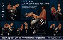 ! NEW - Quickie Lap Dance Chair w. 8 high quality MOCAP lapdances menu driven - copyable