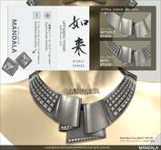 [MANDALA]Nyorai Jewelry set_Silver(wear me to unpack)
