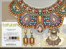 [MANDALA]TEFUTEFU set_RAINBOW(wear me to unpack