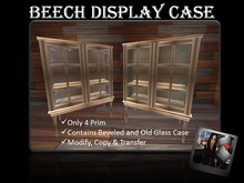 Beech Display Case (Contains 2 Type)