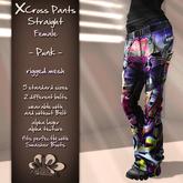*X*plosion X*Cross Female Pants Straight (Punk)