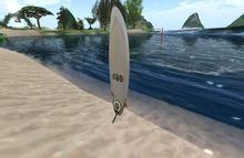 v82.3qc LSD Mesh Digital Spectrum Surfboard REZZER