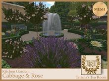 TTR-Kitchen Garden-Cabbage & Rose (12 variations)