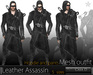 Mesh Casa  Leather Assassin Outfit
