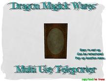 Dragon Magick Wares Multi Use Teleport Steampunk