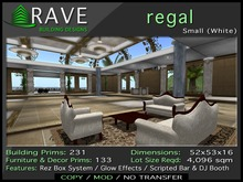 Rave - Regal Small White Building (Perfect for Club, Store or Banquet Hall)