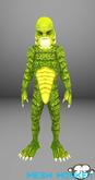 Mesh Monkey : Swamp Creature avatar (mesh)