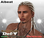 Aibeat *Def-V* brown [silver-mix]
