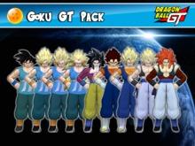 DBGT - Goku GT - Pack