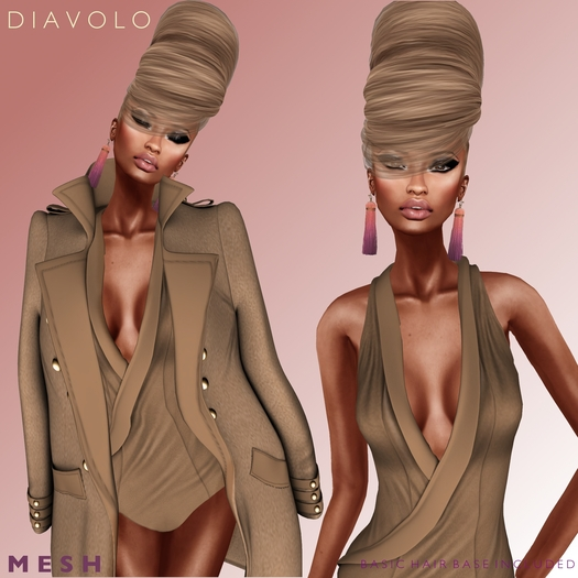 Vanity Hair: Diavolo DEMO(MESH)