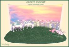 Unicorn Summer Display