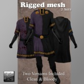 {KD} Kahli Designs - Noble Tunic - Two Toned Purple