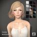 TRUTH HAIR Charlize (Mesh Hair) - black & whites